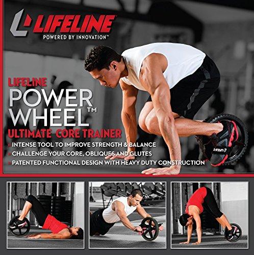 第5位:Lifeline(ライフライン)『LifelinePowerWheel腹筋ローラー』