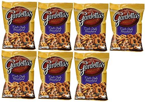 Gardetto#039s Deli Style Mustard Pretzel Snack Mix 55oz each 7 Count