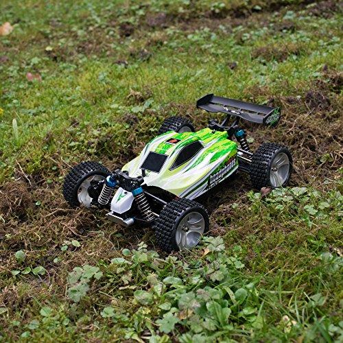 RC Auto kaufen Buggy Bild 5: efaso WL Toys A959-B Zusatzakku - schneller RC Buggy 70 km/h schnell, wendig, voll digital proportional - 2.4 GHz RC Auto mit Allradantrieb - Maßstab 1:18, hoher Fun Faktor*