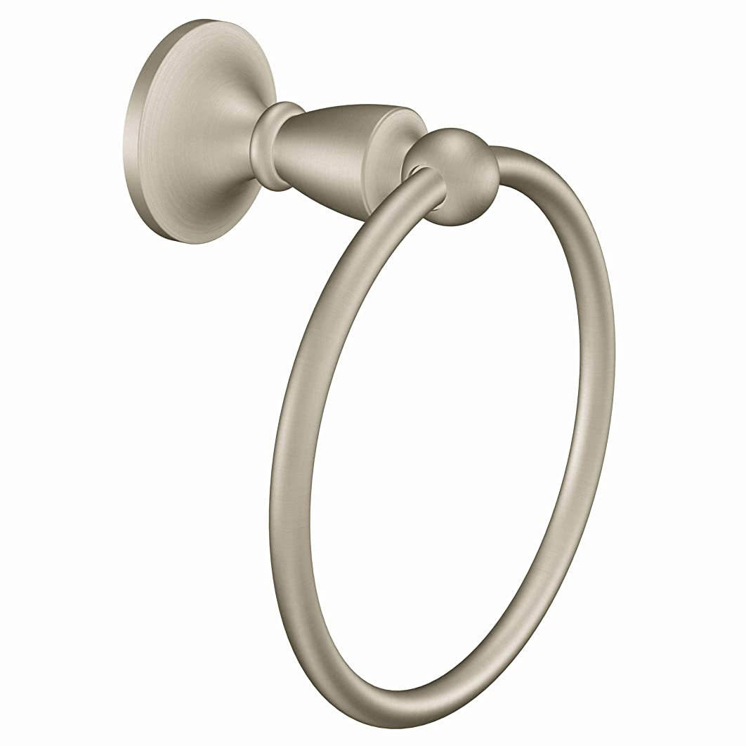 深さリットルうめき声CSI DonnerDN8286BNBrushed Nickel Towel Ring-BN TOWEL RING (並行輸入品)