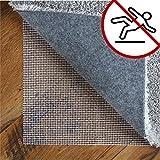 LILENO HOME Anti Rutsch Teppichunterlage aus Vinyl (120x180 cm) - Fußbodenheizung geeignete Teppich Antirutschmatte für Glatte und Harte Böden - Teppichstopper für EIN sicheres Zuhause