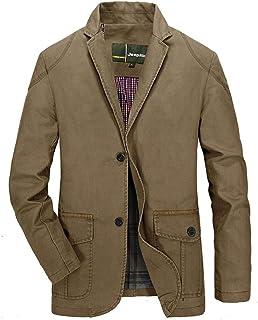 QUICKLYLY Trajes Hombre Chaquetas Charm Encanto Casual Un Botón Apto Fit Suit Traje Blazer Abrigo Tops Fiesta Lentejuelas Chaqueta Esmoquin Estampada Ropa Manga Larga Cardigan