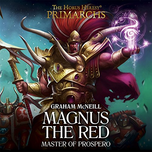 Magnus the Red audiobook cover art
