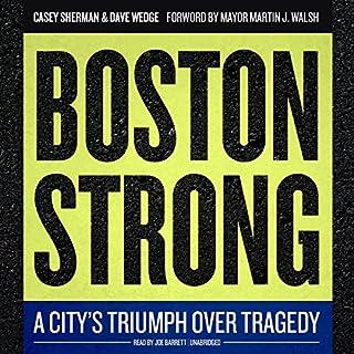 Boston Strong audiobook cover art