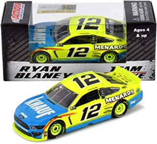 Lionel Racing Ryan Blaney 2019 Knauf / Menards Ford Mustang NASCAR Diecast Car 1:64 Scale