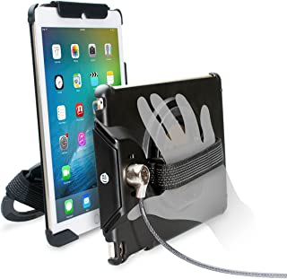 CTA Digital Anti-Theft Case with Built-In Grip Stand for iPad Air (1-2), iPad (2018 and 2017) and iPad Pro 9.7 PAD-ACGA