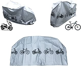 HEHE Bicycle Motorcycle Water Proof UV Protection Bike Cover(Black or Grey)