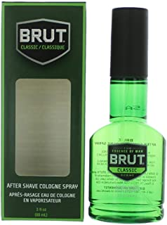 Faberge Brut After Shave Cologne Spray, 88 ml/3 Ounce