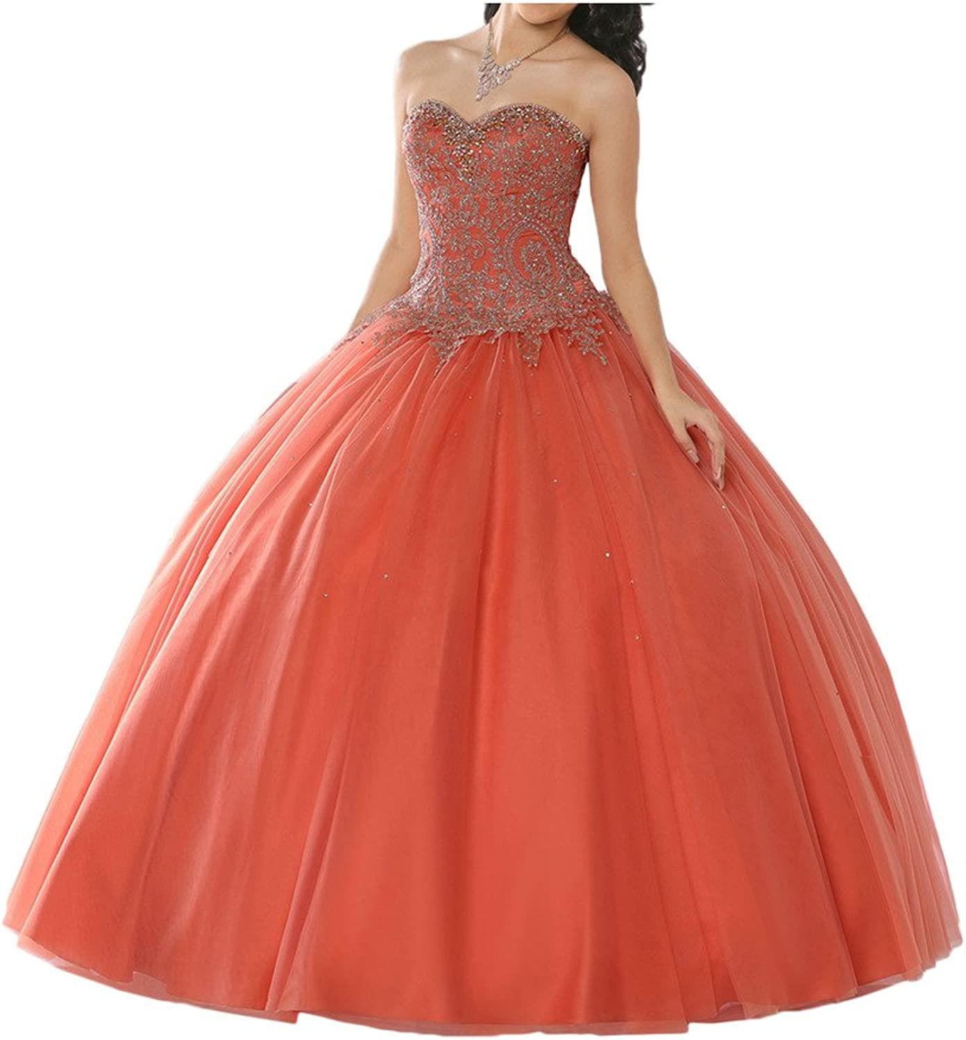 MILANO BRIDE 2017 Ball Gown Strapless Beadings FloorLength Quinceanera Dress