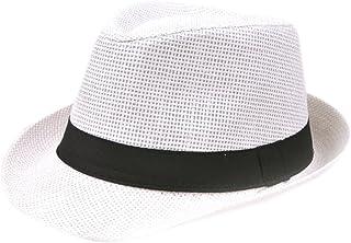 Cappello Panama Donna Uomo Cappelli Spiaggia Moda Outdoor