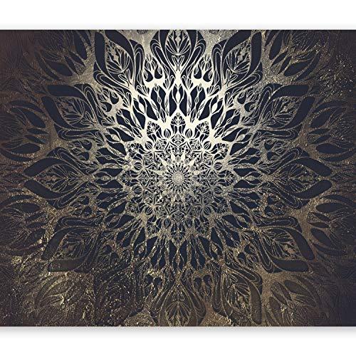 murando Fototapete selbstklebend Mandala 294x210 cm Tapete Wandtapete Klebefolie Dekorfolie Tapetenfolie Wand Dekoration Wandaufkleber Wohnzimmer Ornament Orient Zen f-A-0659-a-b