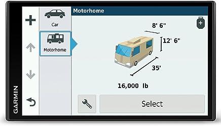 Garmin Camper 770LMT- D 6,95'' Navigatore satellitare con mappe Lifetime di Regno Unito e tutta Europa, servizio infotraffico Lifetime gratuito, Bluetooth e Wi-Fi.