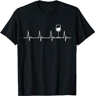 Rotwein Weisswein Wein Alkohol Weinkenner Party Shirt