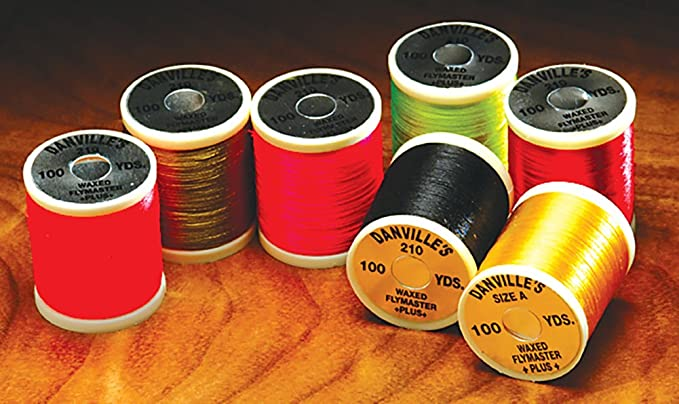 50 Yards Fly Tying #1  WHITE  Danville/'s 3//0  NO WAX Monocord 1 Spool