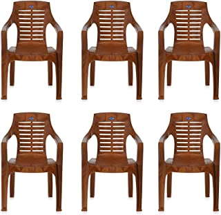 @home By Nilkamal Set of 6 Chairs (Pear Wood)