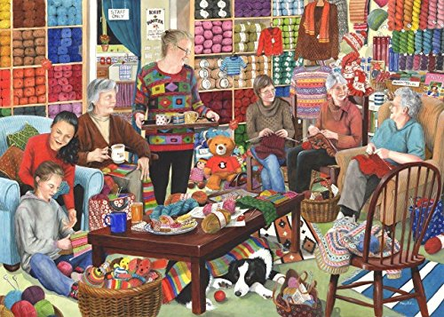 1000 Piece Jigsaw Puzzle - Knit & Natter \