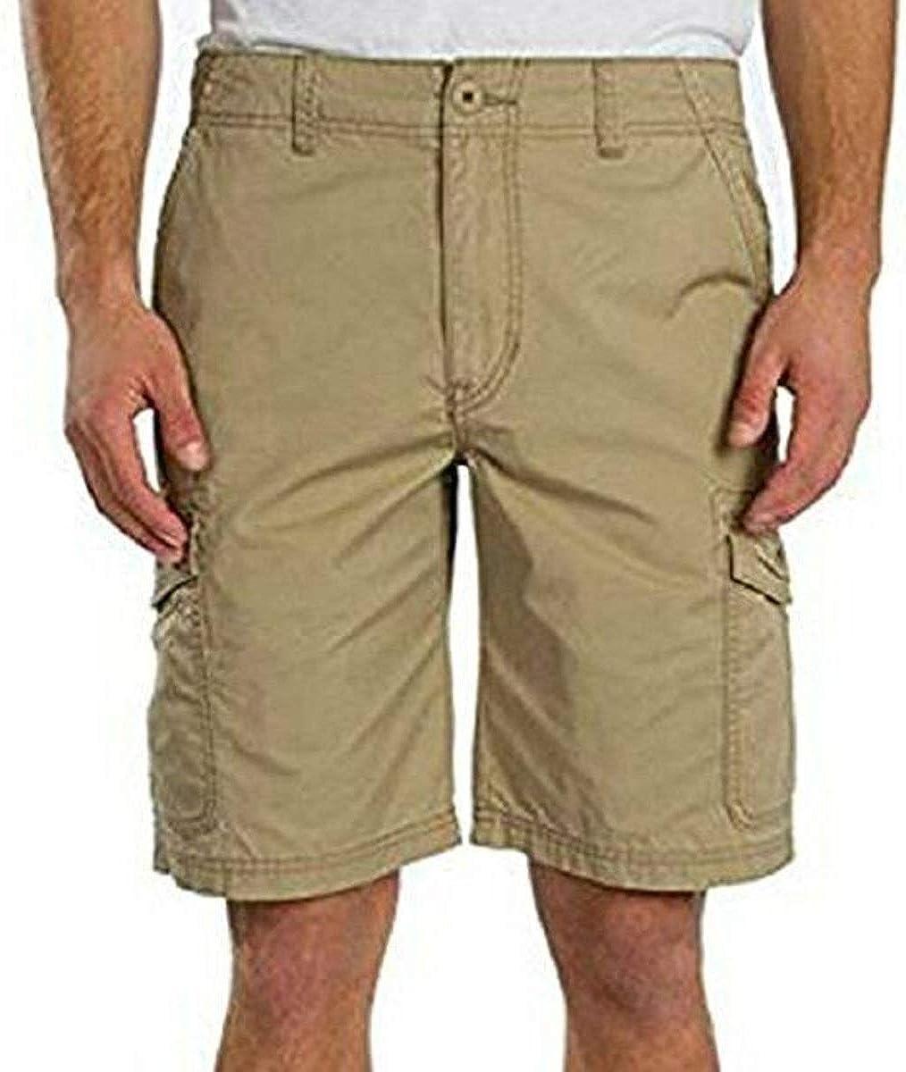 Union Bay Men's Light Weight Medford Cargo Shorts, Grain, Variety