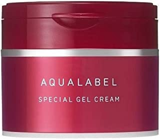 New Shiseido AQUALABEL Special Gel Rich Collagen 5in1 Face Cream Moisturizer
