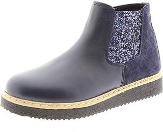 Bota niña Glitter Azul Clarys 8742