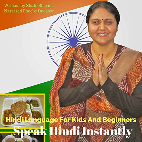 Hindi Language for Kids and Beginners audiobook cover art