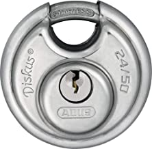 ABUS 24IB/50 B KD All Weather Stainless Steel Keyed Different Diskus Padlock