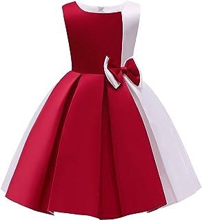NSSMWTTC 3-10T Flower Girls Wedding Dresses Toddler Formal Party Dress