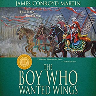 The Boy Who Wanted Wings audiobook cover art