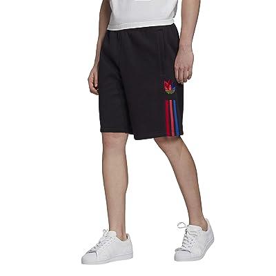 adidas Originals 3D Trefoil 3-Stripe Shorts (Black) Men