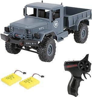 Goolsky WPL B-1 1/16 2.4G 4WD Off-Road RC Militar Truck Rock Crawler Ejército Coche Dos Batería