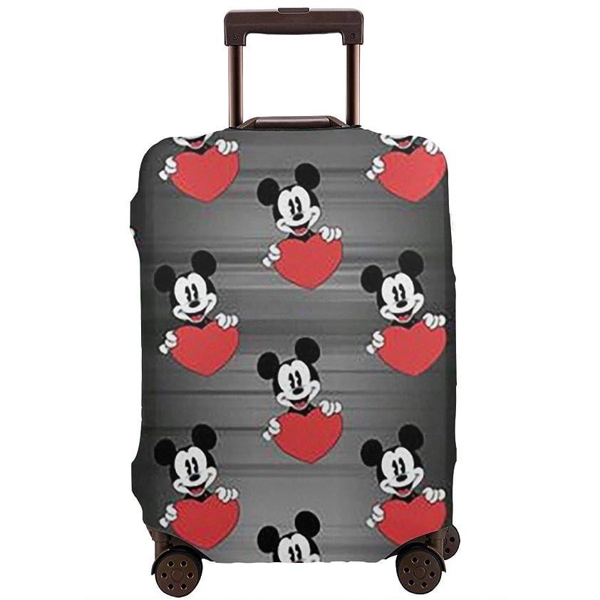 新しい意味忠実そばにスーツケースカバー マウスミッキー 防水 傷防止 防塵 出張 旅行 キャリーカバー ラゲッジカバー かわいい トランクカバー おしゃれ S M L Xl