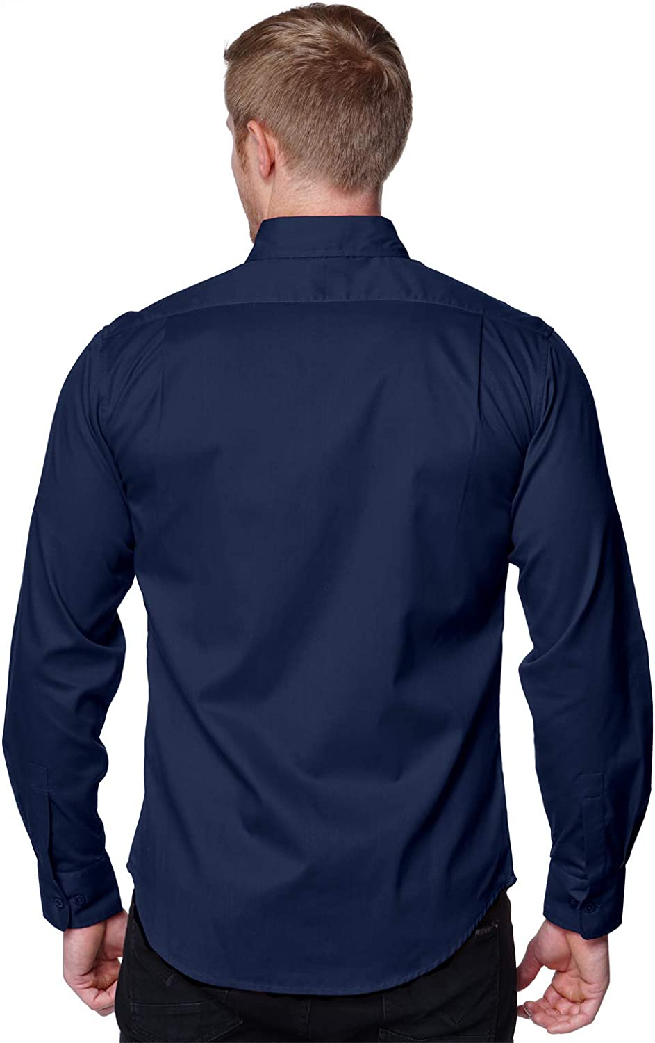 Big and Tall Long Sleeved Solid Shirts, for a Guy on a Budget