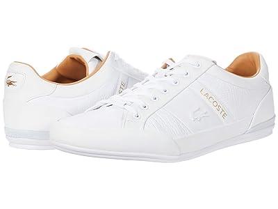 Lacoste Chaymon 0320 3 (White/Tan) Men