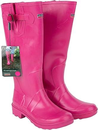 Town & Country Size 3/ EU 36 Premium Wellington Boots - Raspberry