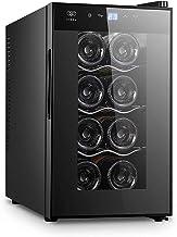 AVERA Cava de vinos para 8 botellas. Enfriador de vinos termoeléctrico. EV8.