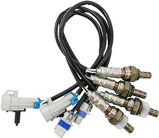 Amrxuts 4pcs 234-4256&234-4668 Upstream&Downstream Oxygen Sensor for 2008-2011 Sierra 1500 2500 HD 3500 HD 6.0L 2008-2014 GMC Yukon 6.2L