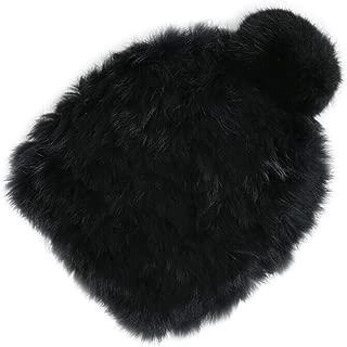 Best black rabbit fur hat Reviews