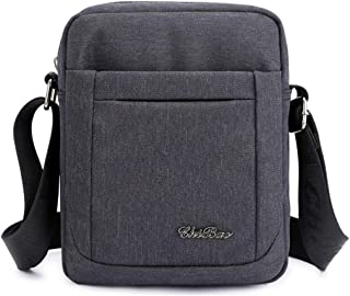COAFIT Men's Shoulder Bag Splash-Proof Messenger Bag for Work