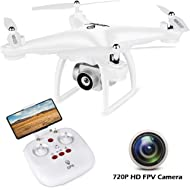 JJRC GPS Drone with Camera for Adults, Quadcopter with Auto Return Home, Adjustable Wide-Angle...