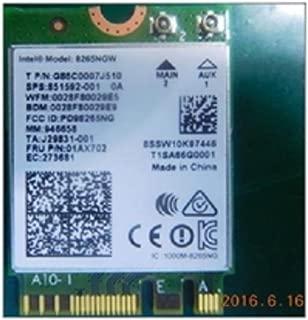 Intel Dual Band Wireless-Ac 8265 W/Bt