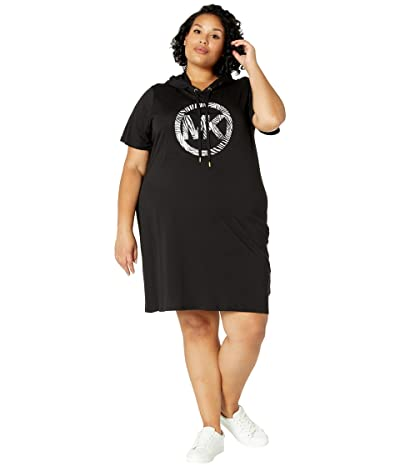 MICHAEL Michael Kors Plus Size Circle Hoodie Dress