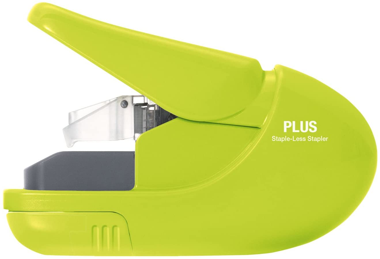 Plus Free shipping PAPER CLINCH Compact quality assurance Green Heavy S Duty Light Free Staple