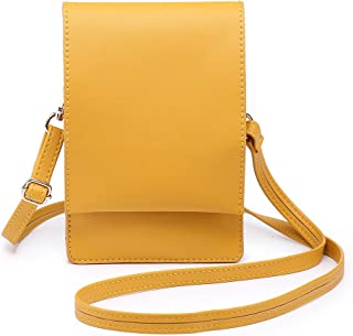 Shomico Women Small Crossbody Purse Cell Phone Pouch Wallet Shoulder Bag For 6 Inches