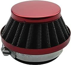 GOOFIT 42-44mm Red Air Filter for 2 Stroke 47cc 49cc ATV Pocket Bike Mini Quad