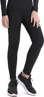 LNJLVI Boys & Girls Compression Tights Base Layer Thermal Under Tights/Leggings