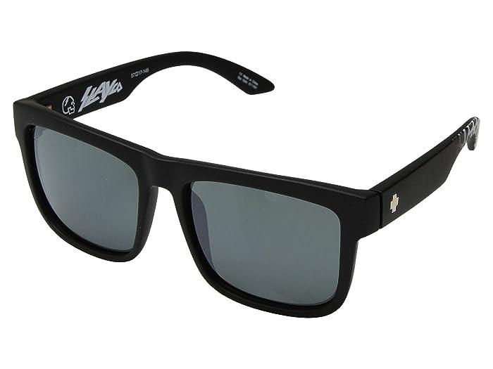 Spy Optic Discord (Matte Black Leopard Fade/HD Plus Gray Green/Silver Light Spectra) Sport Sunglasses