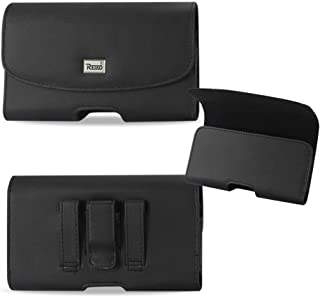 Reiko Leather Horizontal Magnetic Case with Belt Loops for Samsung Rugby 4.