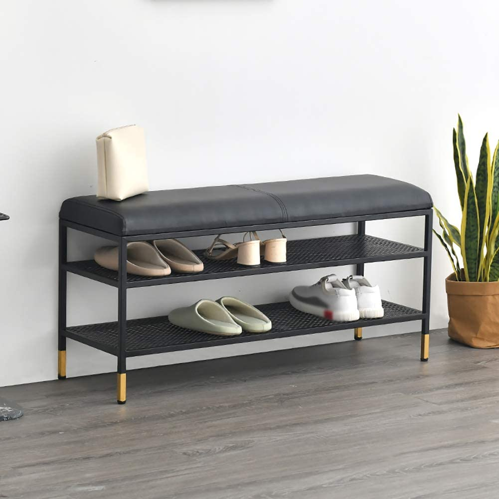 Recommendation 2 Layer Shoe Rack Stool with Bench Selling and selling Sturd Storage
