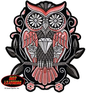 large owl patch
