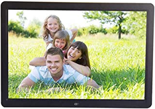 Color : Black, Size : 13 inch Oureong Digital Photo Frame 13 Inch Widescreen HD Digital Photo Frame 10280800 Pixels High Resolution High Resolution LED Screen USB and SD Card Slots