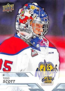 2018-19 Upper Deck CHL Hockey #222 Todd Scott Edmonton Oil Kings Official Canadian Hockey League Trading Card from UD